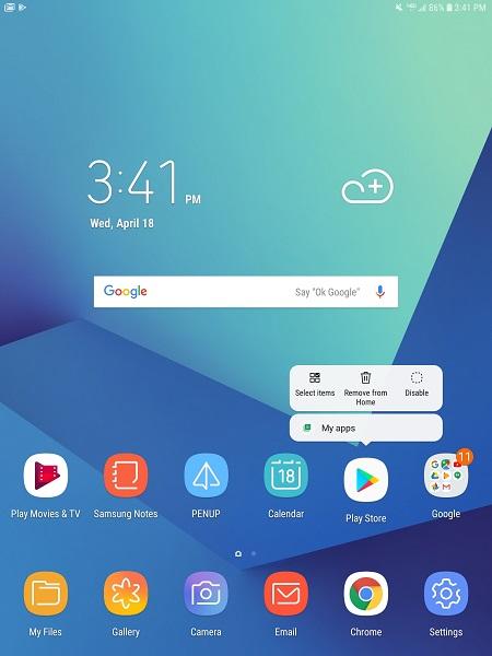 Verizon Samsung Galaxy Tab S3 now getting Oreo - GSMArena