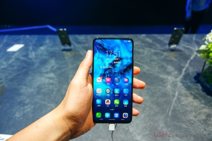 vivo NEX A settles for Snapdragon 710, passes on the under-display