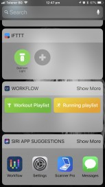 Play a particular playlastEasily accessible from Widget