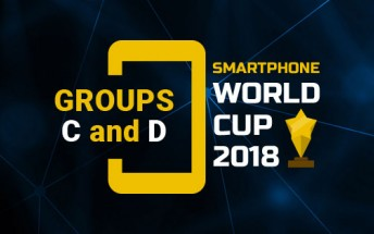 Smartphone World Cup: Groups C and D