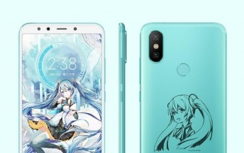 Xiaomi Mi 6X Hatsune Miku Edition officially arrives