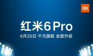 Xiaomi Redmi 6 Pro to arrive officially on June 25