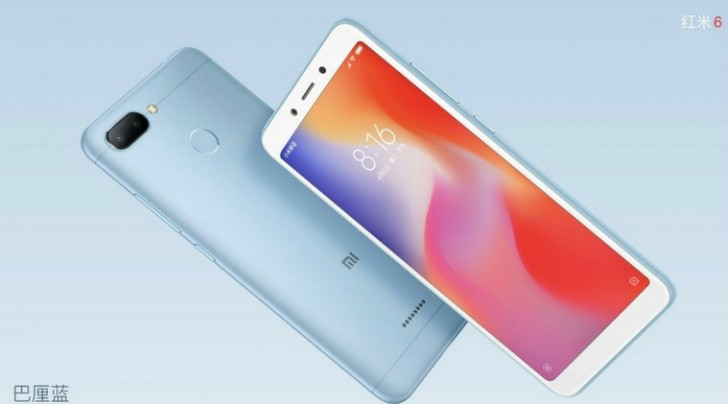 Xiaomi Redmi 6 with Helio P22 and Redmi 6A with Helio A22