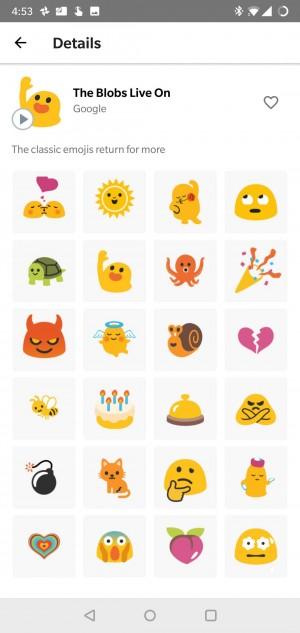 Blob emojis are back as animated stickers on GBoard - GSMArena com news