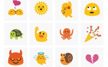 Blob emojis are back as animated stickers on GBoard
