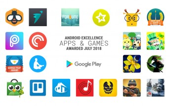 New apps and games added to the Android Excellence list