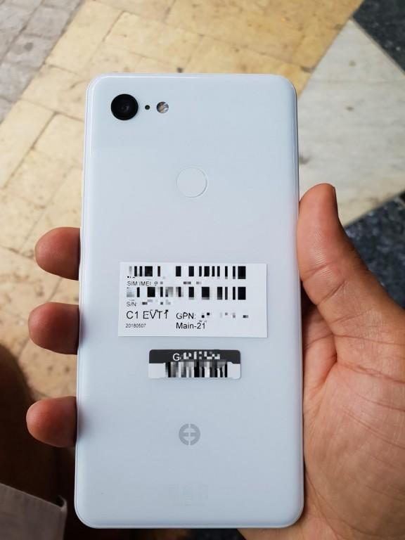 White Pixel 3 XL shines in live photos - GSMArena com news