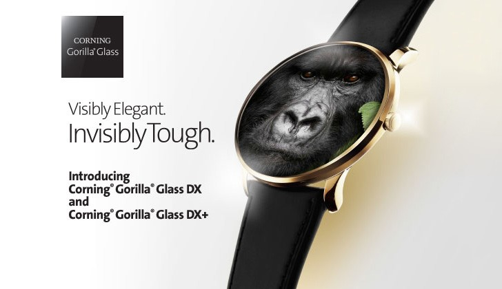 Gorilla Glass DX and DX+ for wearables unveiled they cut reflectivity by 75