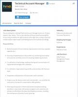 HMD's job postings on LinkedIn