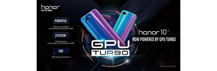 Honor 10 is set to receive GPU Turbo and Automatic Image