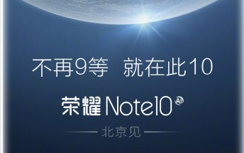 Huawei will announce the Honor Note 10 soon