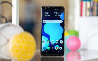 HTC U12+ update improves the pressure sensitive buttons, brings auto zoom in the camera app