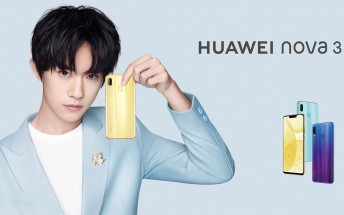 Huawei Nova 3 arrives with Kirin 970, 4 cameras
