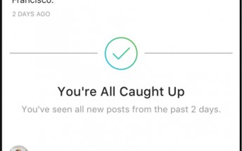 "Instagram introduces ""you're all caught up"" feature"