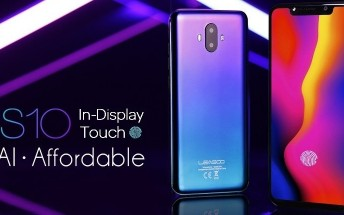 In-display fingerprint becomes increasingly popular, the Leagoo S10 to have it