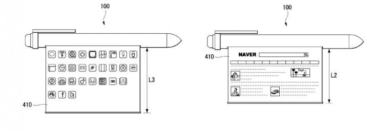 LG patents a smart pen with flexible display - GSMArena com news