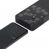 Concept of a Light-powered phone camera