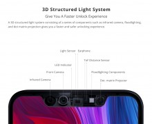 A reminder of what the Mi 8 notch looks like