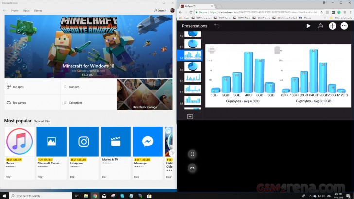 AirBeamTV launches Mirror to Windows PC for iOS - GSMArena
