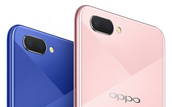 Oppo A5 goes official with 4,230mAh battery, Snapdragon 450, dual camera