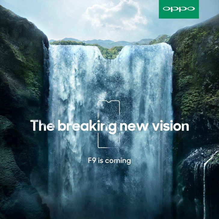 Oppo F9 Pro to arrive with VOOC and triangular notch