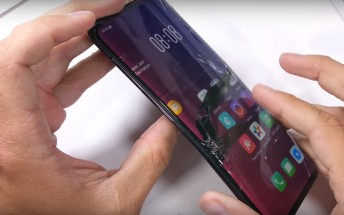 Oppo Find X fails bend test