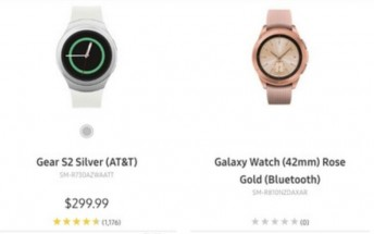 Samsung inadvertently leaks an image of its own Galaxy Watch