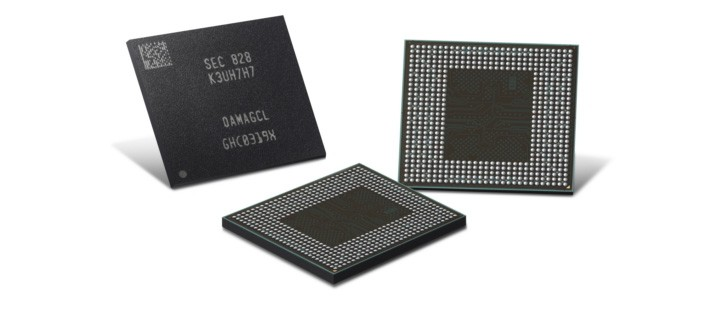 Samsung unveils second-gen LPDDR4X chips with 16 gigabit capacity