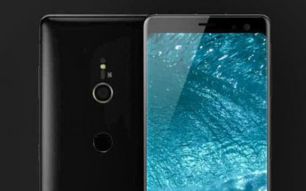 360-degree renders of the Sony Xperia XZ3 show a single camera