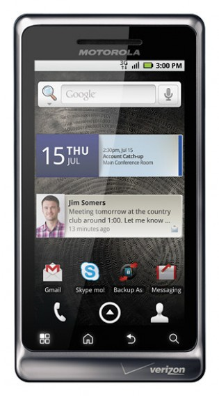 Moto Droid for Verizon (2010)