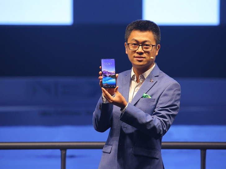 Vivo redefines bezel-less smartphone with Nex