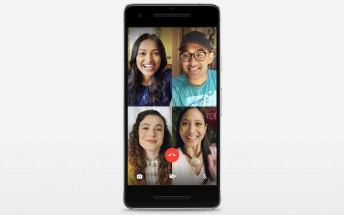 WhatsApp updated to support four-person video chat