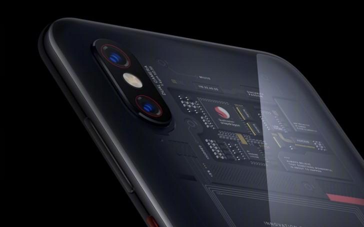 Mystery Solved: Mi 8 Explorer Edition Transparent Back Design