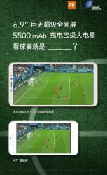 Xiaomi Mi Max 3 promo material