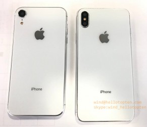 Alleged look at the 5.8-inch and 6.1-inch iPhones