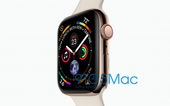 Apple Watch Series 4 shows off its big display in a leaked render