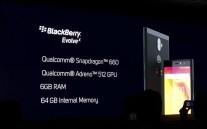 BlackBerry Evolve & Evolve X getting unveiled