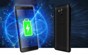 Energizer Power Max P490 and P490S have 4,000mAh batteries and four cameras