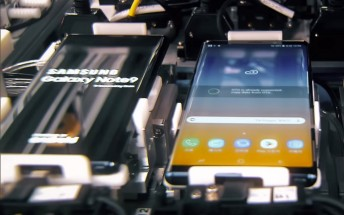 The birth of a Galaxy Note9: behind the scenes video from Samsung's factory