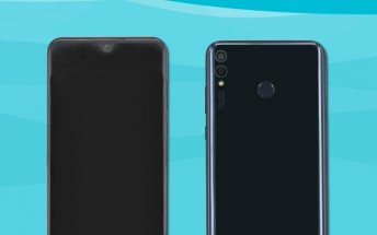 Huawei Honor 8X photos show a small V-shaped notch