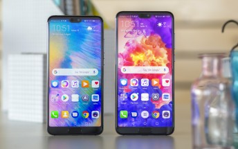 Huawei shipped more notched smartphones than any other company in the first half of the year