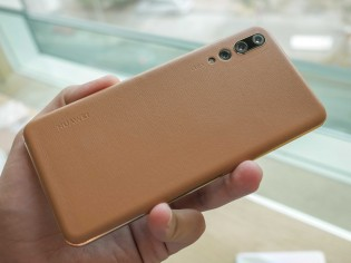 Huawei P20 Pro in Golden Brown