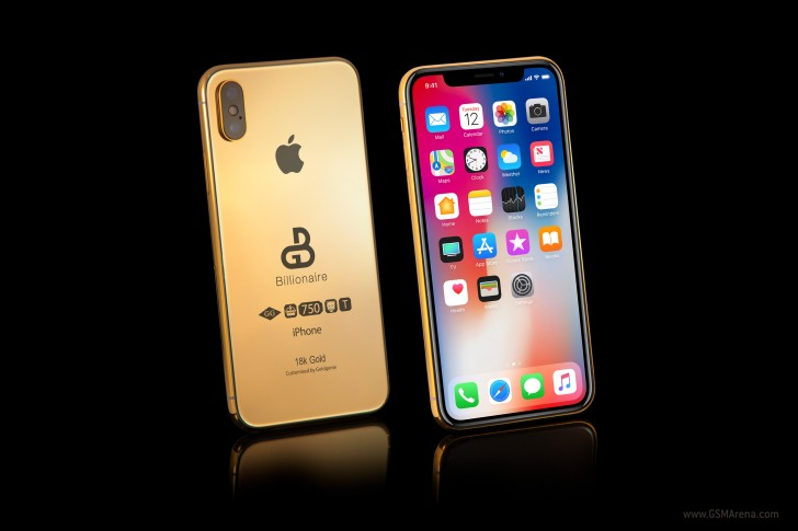 Gold plated 2018 iphone is up for pre order will set you back that hasnt stopped the gold plating experts at goldgenie from choosing to refer to the successor to the iphone x as the iphone xs publicscrutiny Image collections