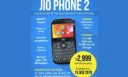 JioPhone 2 pre-orders start on August 15