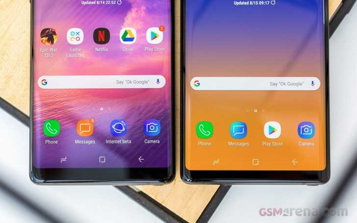 Samsung Galaxy Note 9 and Galaxy S8 Active receiving updates on T