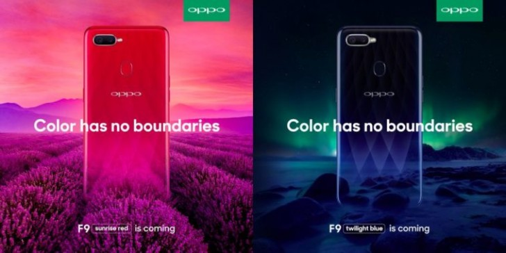 Oppo F9 Hands On Image More Promo Posters Surface Ahead Of August