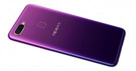 Oppo F9 in Starry Purple