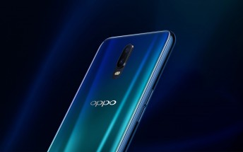Oppo R17 hands-on video shows under-display fingeprint scanner in action
