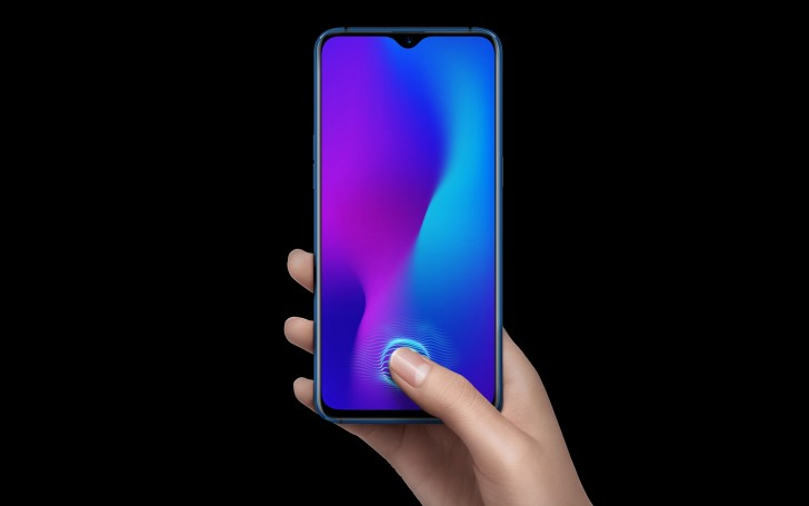 Oppo R17 unveiled with under-display fingerprint scanner