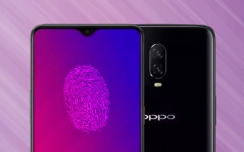 Oppo R17 leak shows an under display fingerprint reader